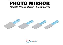 Photo Mirror Photo Mirror  Metal with handle